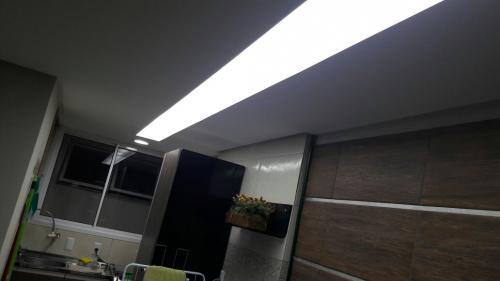 iluminação forro de gesso